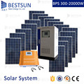 solar panel system with battery solar power system 5000w 5kw kit from BestSun China