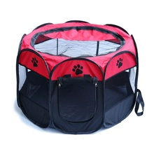 RoblionPet pet outdoor products Large portable Outdoor 8 Panels dog tent Pet Playpen tent with Carry Bag