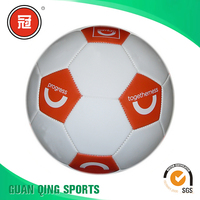 2016 newest cheap soccer ball in bulk official size and weight