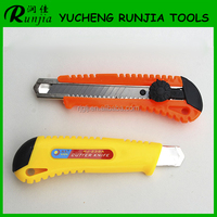 Multi Functionl utility knife high quality double 18mm blades safety cutter knife