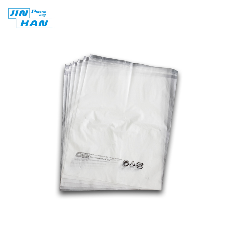 Compostable Recyclable Clear Poly Bags Custom Logo OPP Material Plastic Self Adhesive Seal Garbage Bag