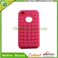 popular mobile phone protect Silicone Case with drops design for apple phone