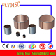 Lubricating Bearing Pads Thrust Washer Flanged Sleeve Bush Cast Bronze Bearing Graphite Bronze Bushing