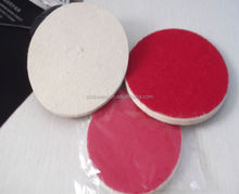 Sheepskin Product Wool felt polishing buffing pads Wholesale