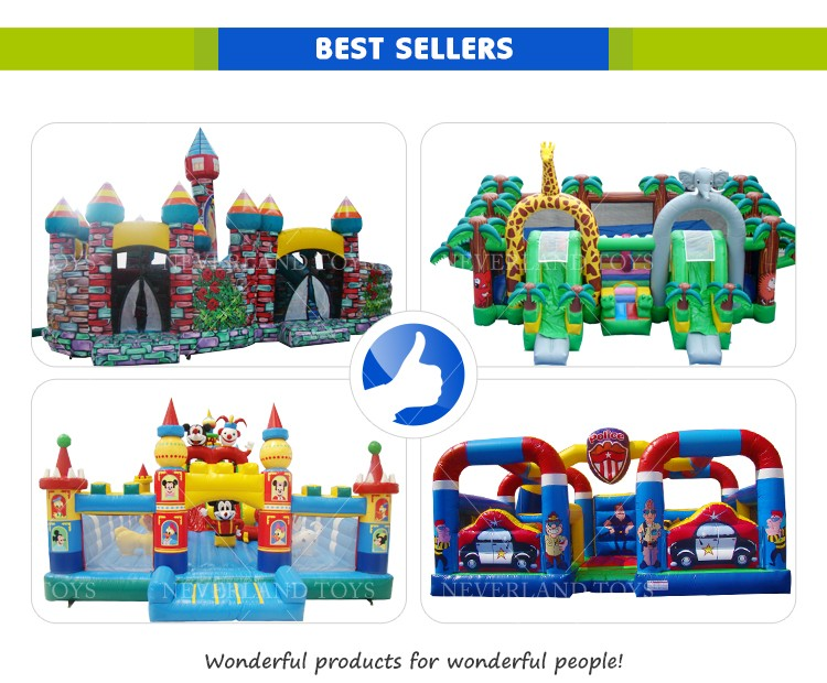 Children Equipment Giant Playgrounds Castle Inflatable Playground Amusement Park Bouncer On Sale