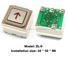 Push Button/Elevator Push Button ZL-6 without ears