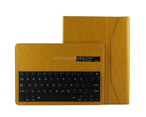 Wireless Blue Tooth Keyboard with Touchpad Fashion Detachable Flip Stand for samsung TAB4 10.1inch T530/T531-SA207F