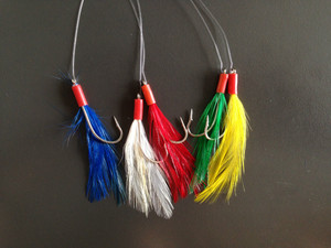 Wholesale high quality sabiki rigs with feather 5 hooks JSM13-1003