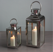 Christmas Reusable Garden Antique stainless steel candle lanterns