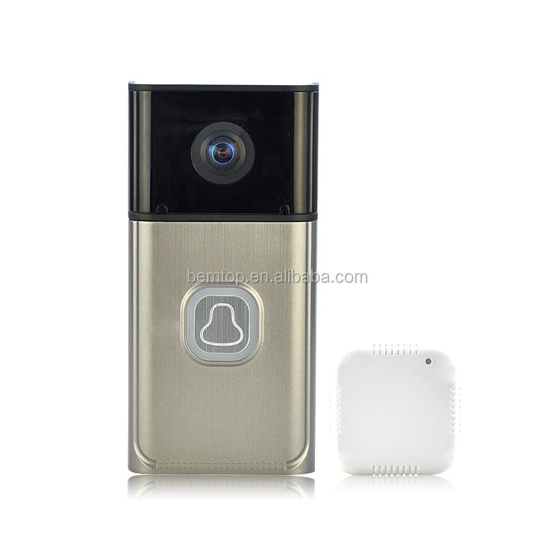 2017 New Arrival wireless WIFI battery video intercom doorbell with camera for home security doorphone wifi connect telephone