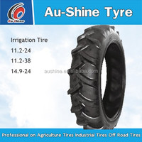 with promotional irrgation tire and rim14.9-24 new storage