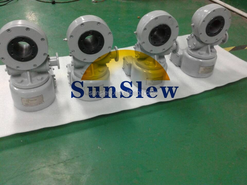 SDD3 top precision dual axis slewing drive for CPV,CSP solar tracker