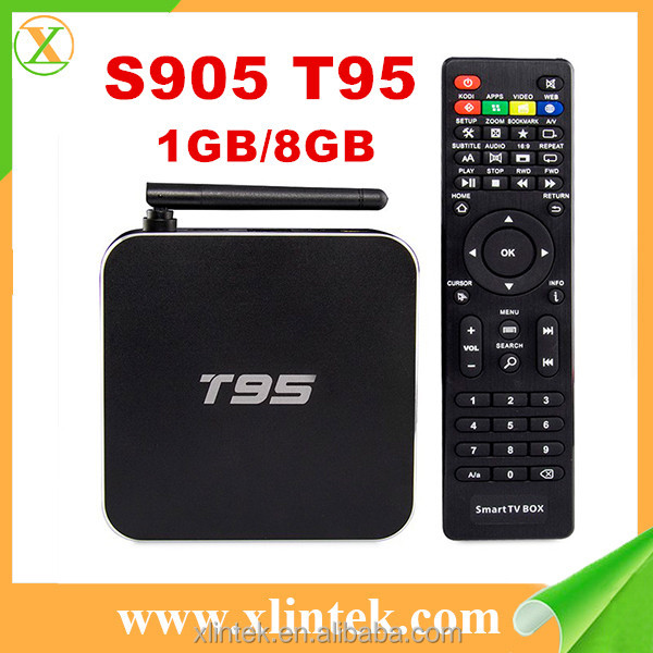 2016 google play store android tv box T95 s905 dreambox full hd 4k android 5.1 smart tv box