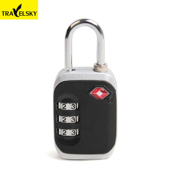 1332801 Wholesale customized travel TSA combination padlock,TSA lock