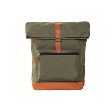 1BP0220 New Style Classic Cheap Cute Army Green Canvas Backpack Girls For College School Students