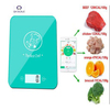5kg high accuracy smart digital wireless Bluetooth kitchen scale with electronic food calorie counter function