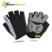 ROCKBROS 2016 Summer New Half Finger Gloves Outdoor Sports Bike Bicycle Cycling Gloves Gym Training Short Finger Gloves