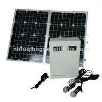 portable 500w solar system for home for lighting and mobile charging