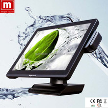 Factory price Andriod POS capacitive touch screen pc/15'' multi touch water proof Pos terminal