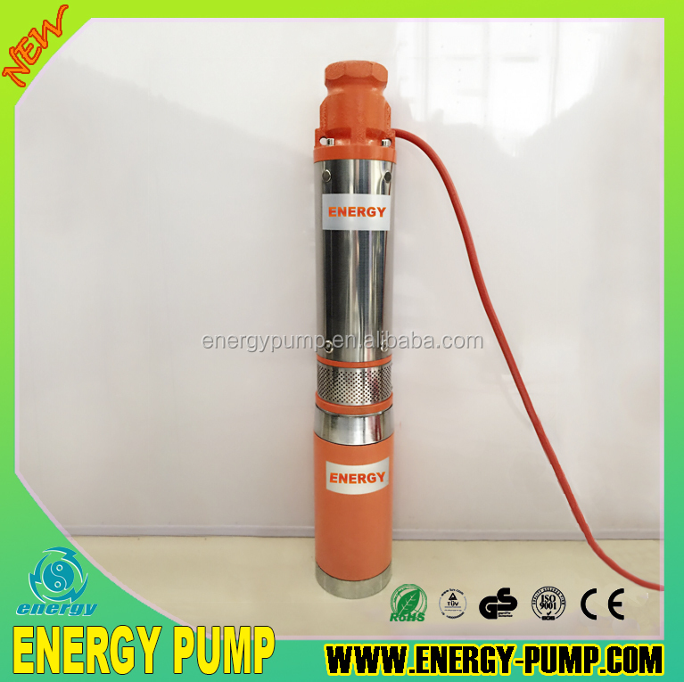 NEW MODEL copper 48V 400W DC solar deep well submersible pump water bomba