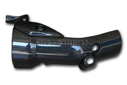 Carbon fiber Exhaust Covers Lower for Yamaha YZF R1 2009
