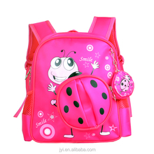 2016 Kindergarten Animal Lady bird Backpack Manufacturers Wholesale Children Kids School Bags