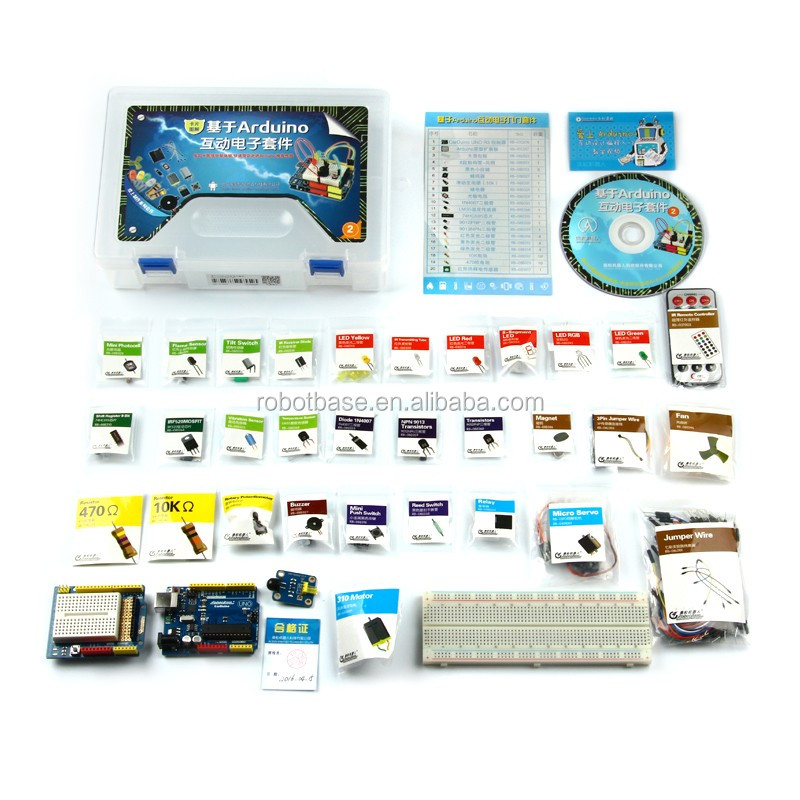 ALSRobot Arduino Electronic Starter Kit for Education with Arduino UNO R3 Controller