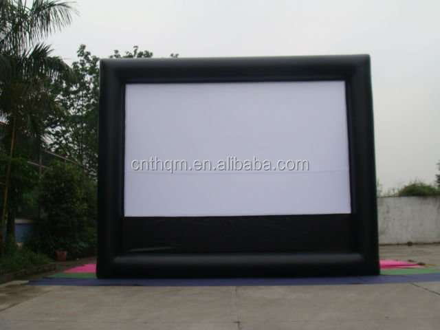 large Outdoor rear Projection Screens