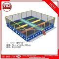 Promotional top quality trampoline with nets