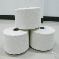 Top quality raw white 40s polyester spun yarn wholesale