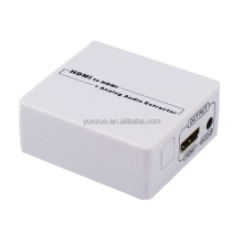 High quality HDMI Audio Extractor Digital To Analog Converter