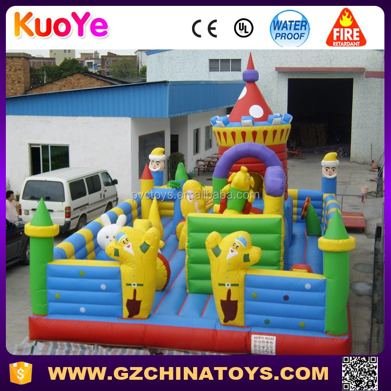 air kids playground inflatable