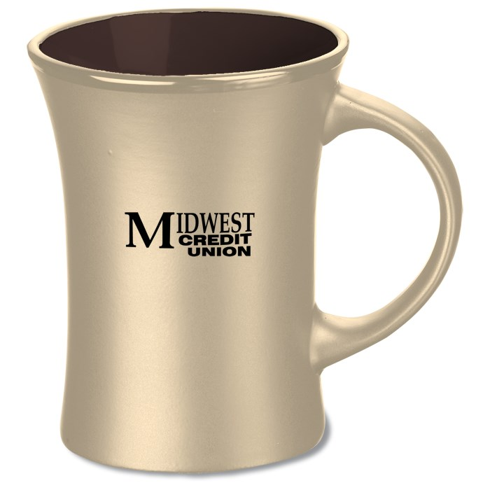 XD1035 Creative mark ceramic cup contracted coffee cup milk cup The promotion customized mug
