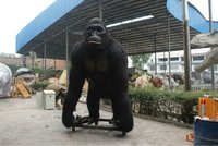 Amusement park equipment movies King kong model