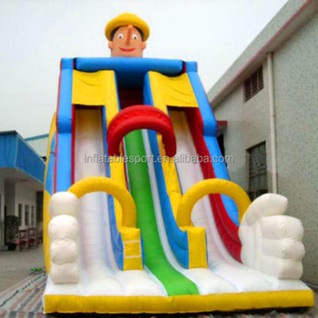 Hot sale clown inflatable slide