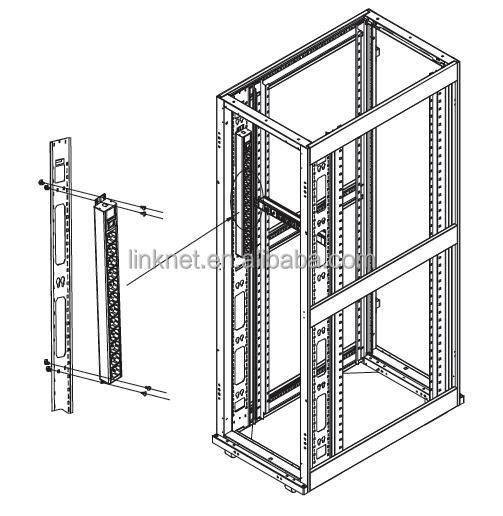 server rack cabinet data center pdu socket