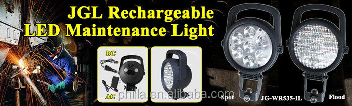 JG-9915 Popular Portable Led Flashlight Rotatable Head cree t6 searchlight