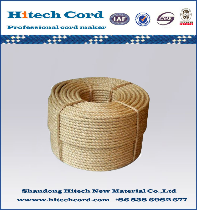 3-Strand Jute Twisted Rope/Cord for Sale