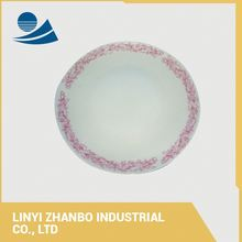 China Daily Use Stock Decorative Bulk Cheap Porcelain Plates