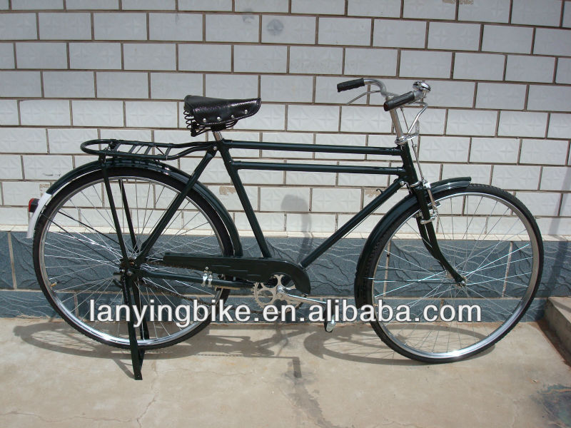 "Utility Bicycle 28"" Traditional Style Heavy Duty Double Top Tube"