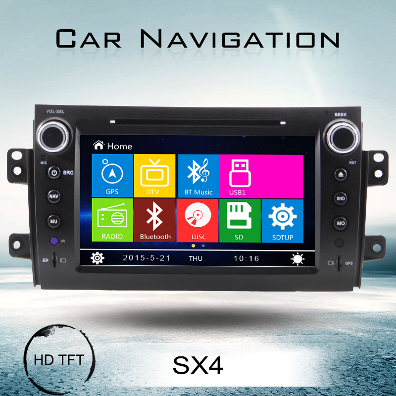 for suzuki sx4 double din car dvd navigation