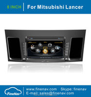 S100 A8 Chipset 3G WIFI Car DVD For Mitsubishi Lancer 2010-2011 With 8 inch SCREEN GPS Radio Bluetooth TV Ipod Free Map