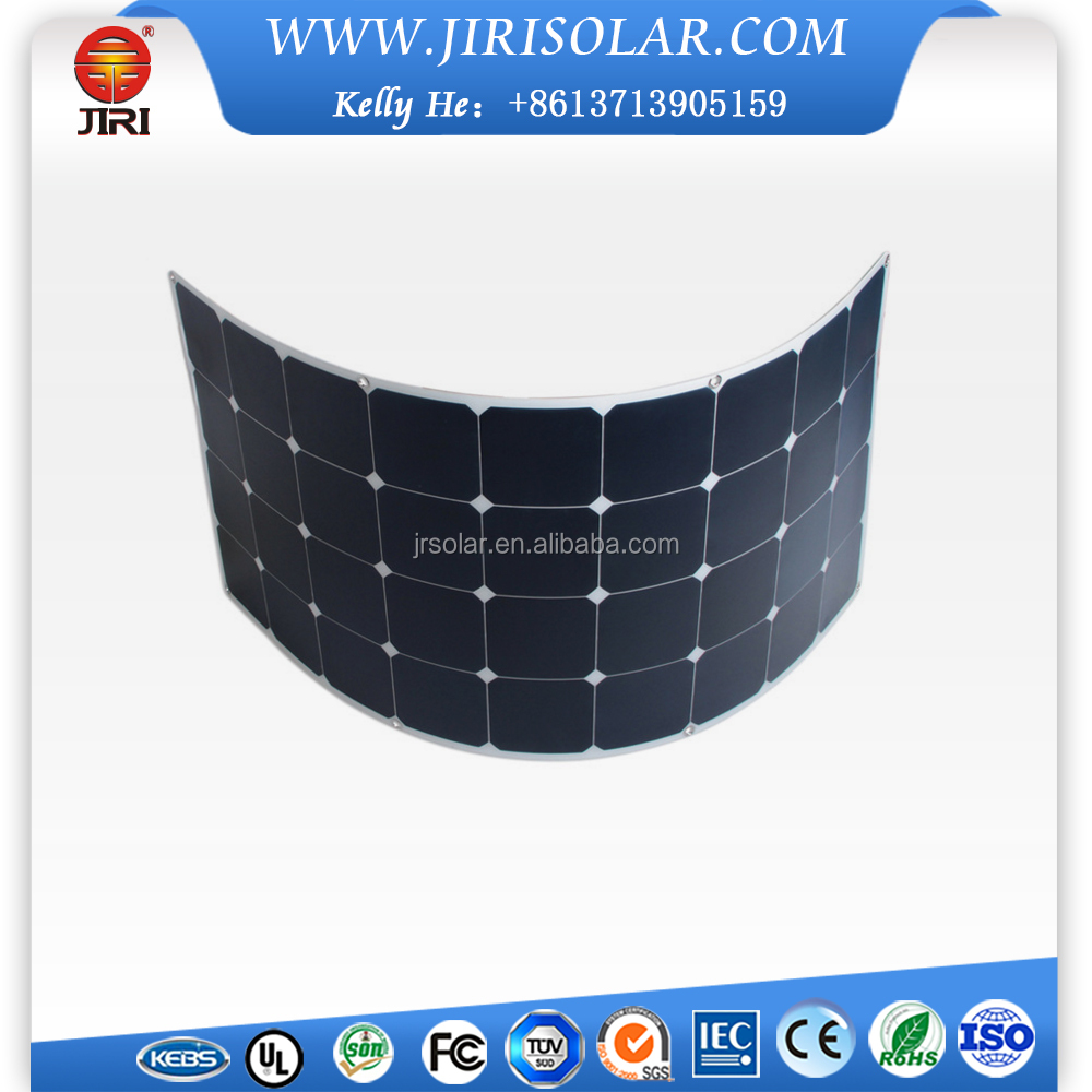 60W Thin Film Flexible Solar Panel With Long Term Output Stability And Reliability