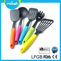 5 PCS Colorful Handle Heat Resistant