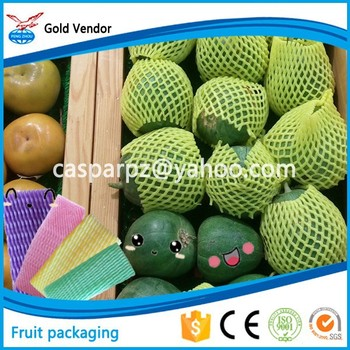 foam fruits and vegetables net