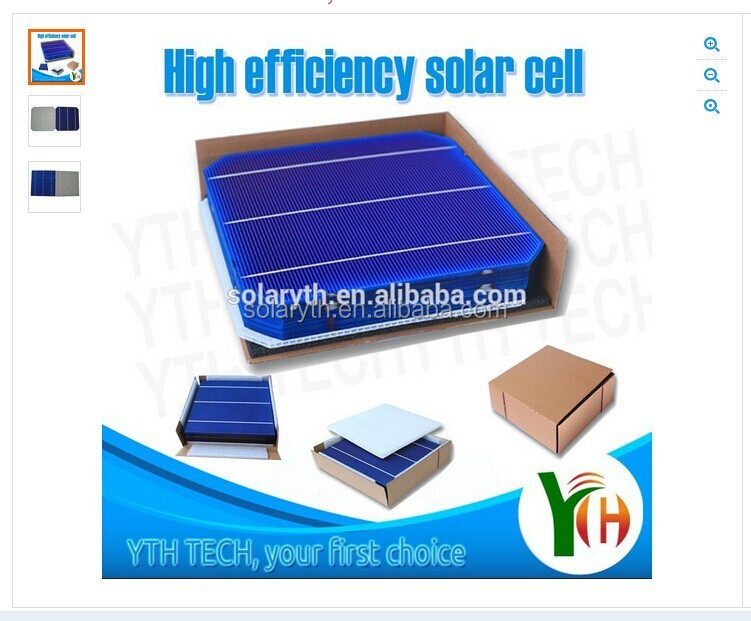 2015 hot sale high efficiency above 4w Monocrystalline Silicon Celulas Solares/solar cell price for solar panel