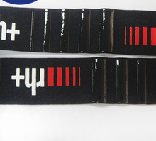 Custom logo silicone rubber anti-slip strip non-slip gripping elastic tape
