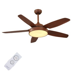 Manufacture design popular attractive unique ceiling fans with lights