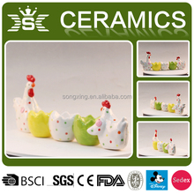 best selling cute chicken ceramic egg cups
