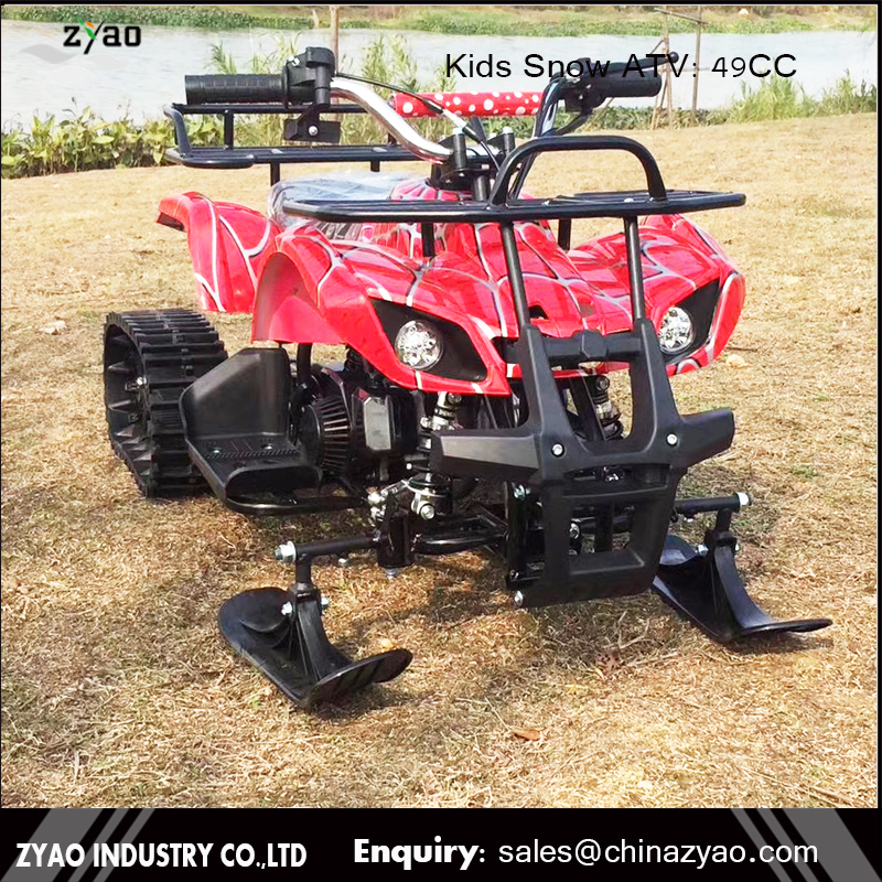 fully automatic 50cc Snowmobile/snow ATV/snow shovel track ATV 50cc